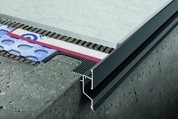 Progress Profiles Proterrace Drain Drip è il nuovo profilo perimetrale in alluminio per il balcone