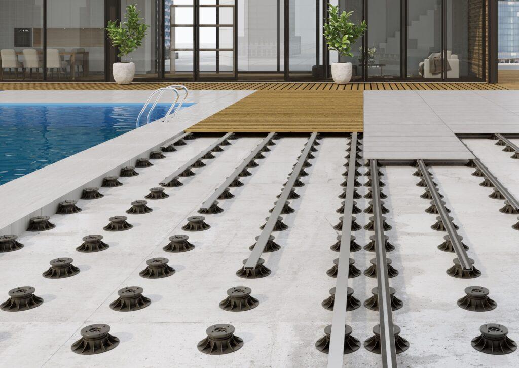 sistemi per pavimentazioni sopraelevate dual system evolution di italprofili
