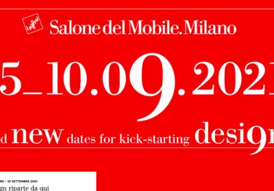 Le date previste per l'edizione del Salone del Mobile 2021