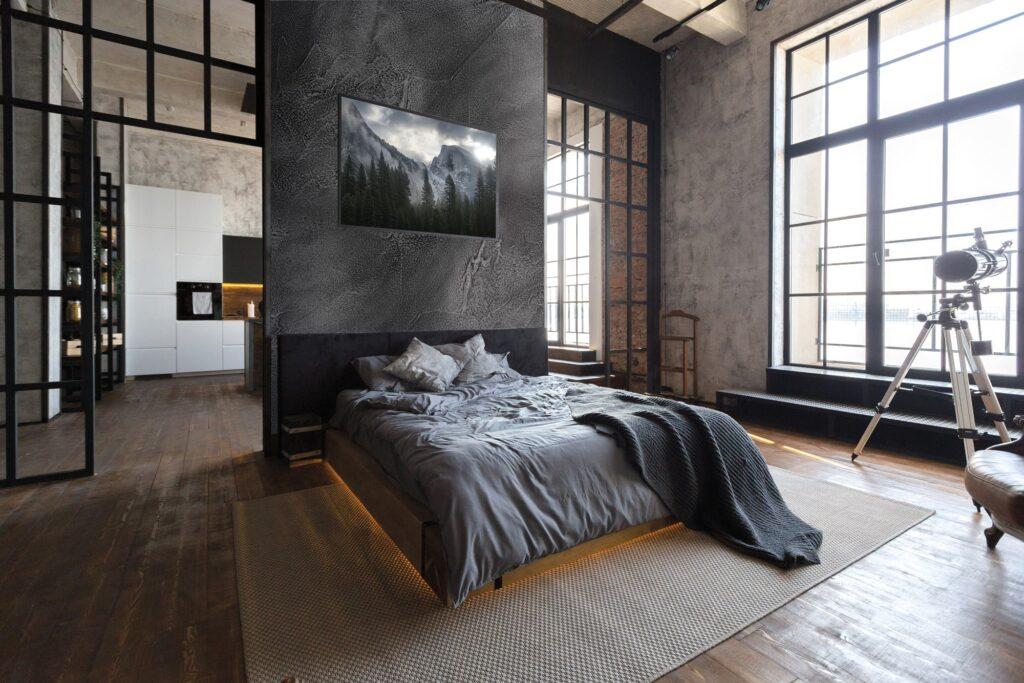 I rivestimenti isoplam nella versione ferro in camera da letto
