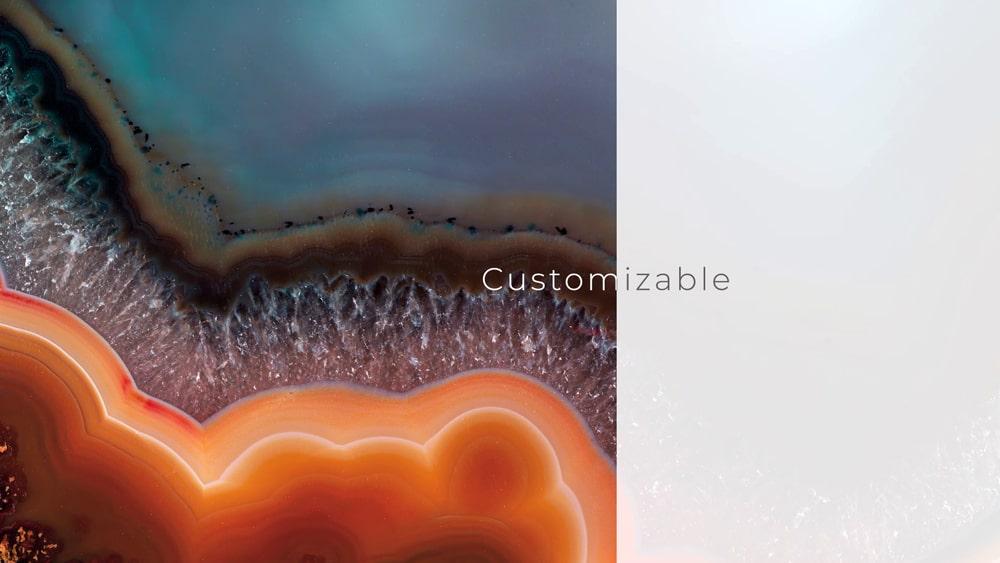 New smart panel è customizzabile