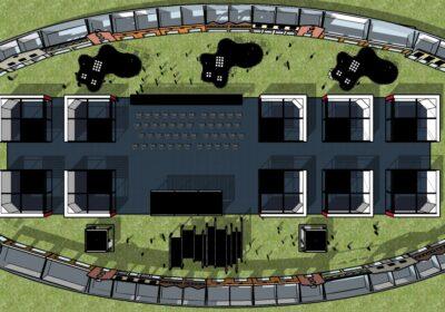 Piantina della Contract Hall di Cersaie 2021