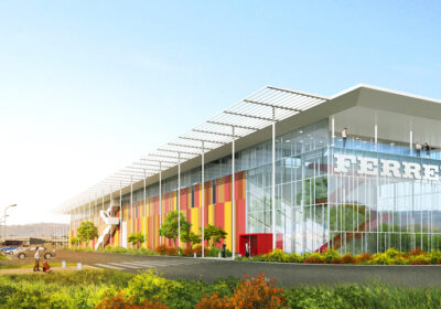 progetto del polo Ferrero technical center di Alba