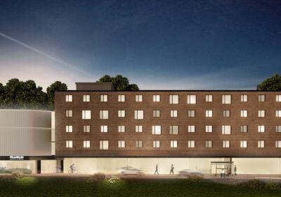 Fronte progetto campus della Frankil University Switzerland