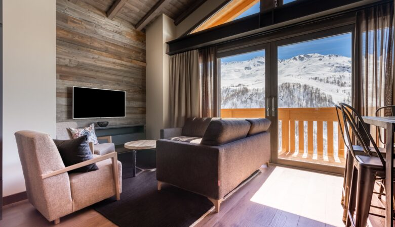La Penthouse di LaCresta Hotel progettata da Concreta