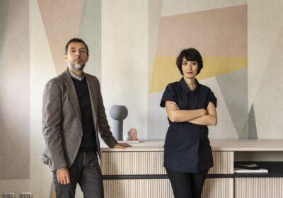 Silvia Cirabolini e Alberto Soana di Ghostarchitects