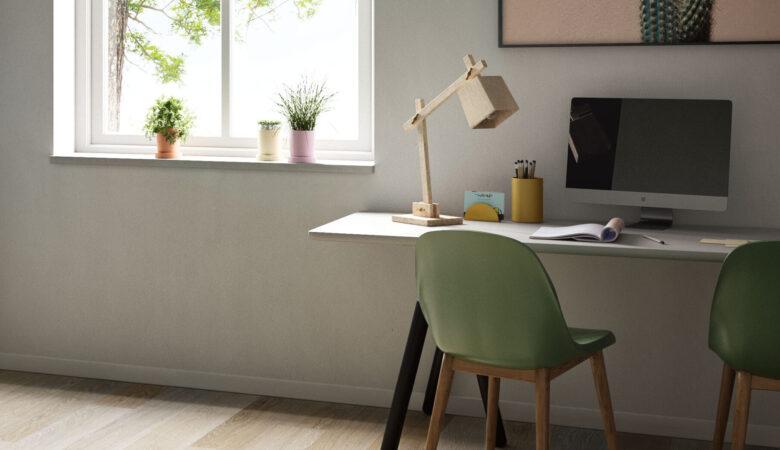 Battiscopa woodco della linea Design in salotto