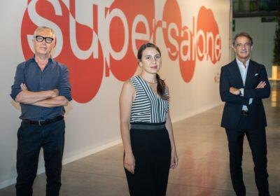 Stefano Boeri, Maria Porro e Claudio Feltrin al supersalone