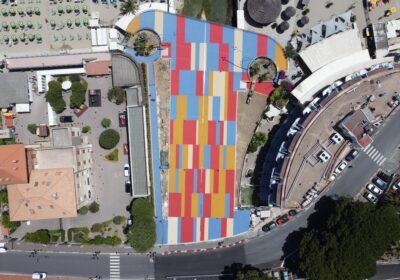 Rotonda Ferrer Manuelli con il pavimento IPM Freetime versione plus